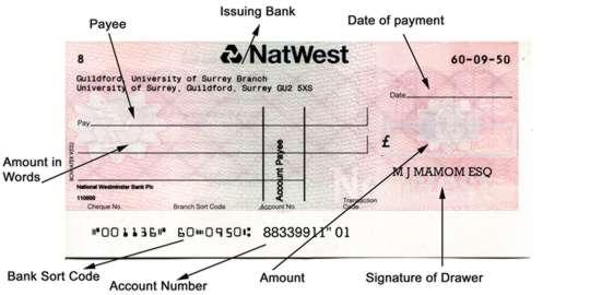 how to cash a pdf cheque